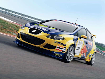 WTCC 2006 Seat Leon Seat Leon WTCC Race Car. Posted by syarif at 1:01 PM