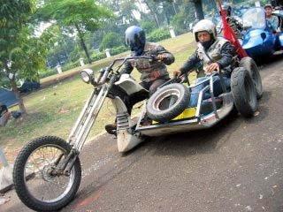 Modifikasi Extreme Chooper Vespa  GAMBAR FOTO CONTEST MODIFIKASI MOTOR