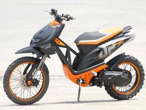 Honda Beat For Of Road Modification Style