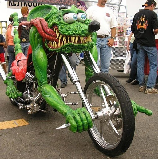 Unique Bikes Modifications Picture