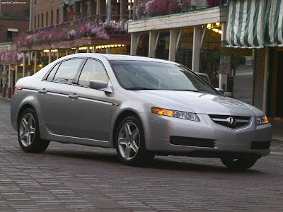 New Acura TL Performance Luxury Sedan