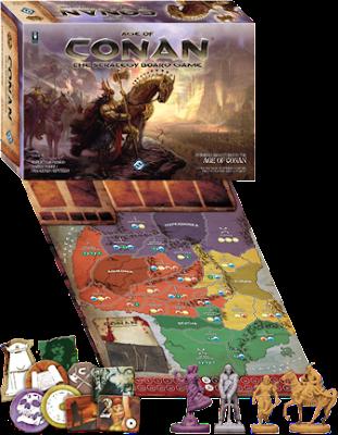 Age of Conan - Nexus/Fantasy Flight Games Age-of-conan-components