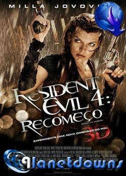 Filme Resident Evil 4 - Recomeço Dublado - RMVB