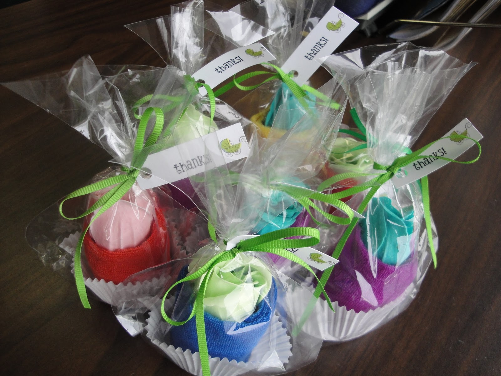 homemade baby shower favor ideas