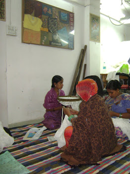 SEWA Delhi women sewing