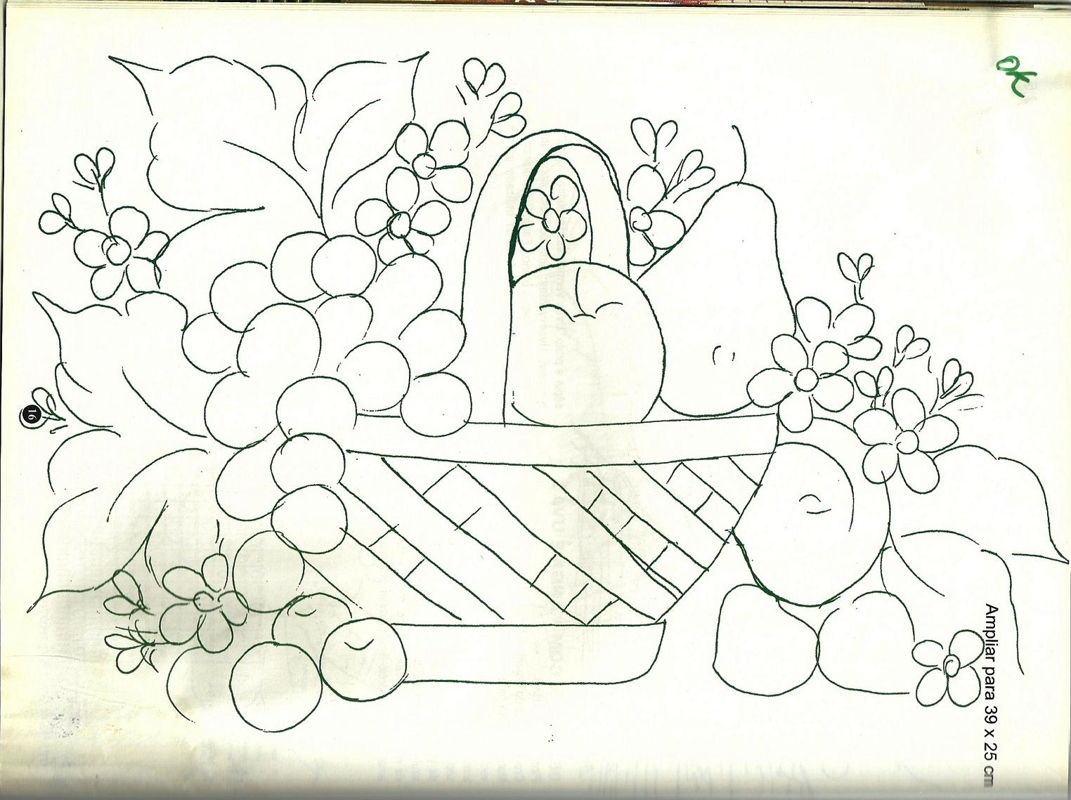 Riscos para bordar gratis - Desenhos para colorir - IMAGIXS