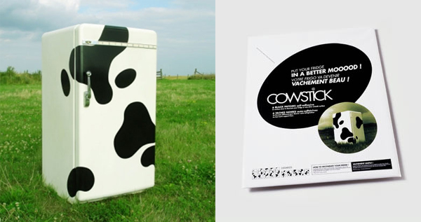 Cow Spots Fridge Stickers
