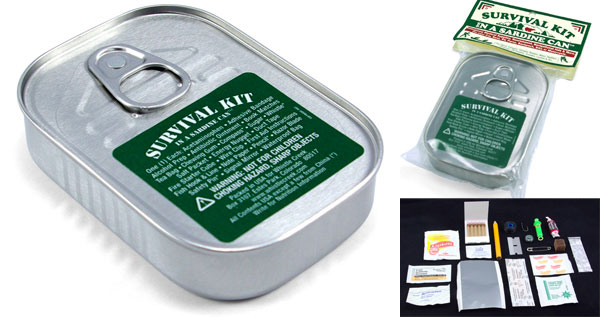 Survival Kit in a Sardine Can Cool Sht You Can Buy Find Cool
