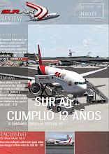 Descarga de aqui la Edicion Diciembre de Sur Air Review