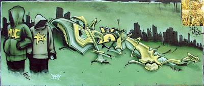 Digital arrow graffiti alphabet drawing murals graffiti 3d graphic