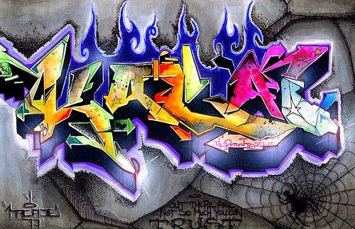 Graffiti Letters 3d Street Art Graffiti Alphabet Letters