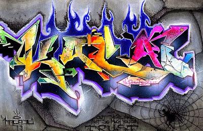 graffiti letters, graffiti alphabet, alphabet letters