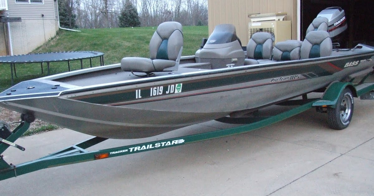Hunt plots inc 1998 bass tracker 185 pro team fishing for Bass pro fishing boats