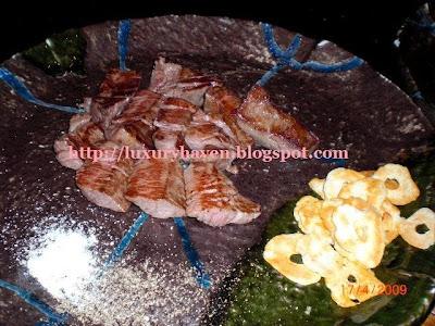 hama steak house tokyo teppanyaki wagyu beef