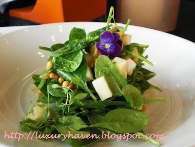 il lido italian restaurant sentosa baby spinach
