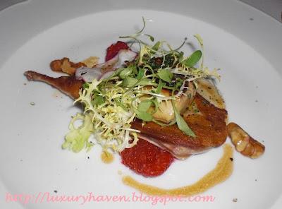 goodwood park gordon grill quail foie gras