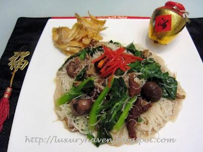 tasty cny narcissus pork leg vermicelli