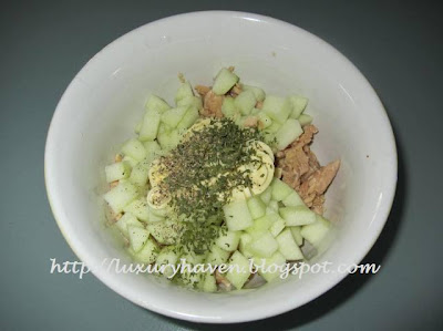 how to make lovely apples salad for cny