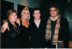 con Sandra Smith y Juan Jose Caméro