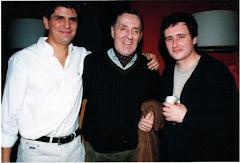 con Tristan y Santi Olmedo