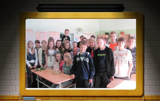 9Б класс Кесклиннаской гимназии