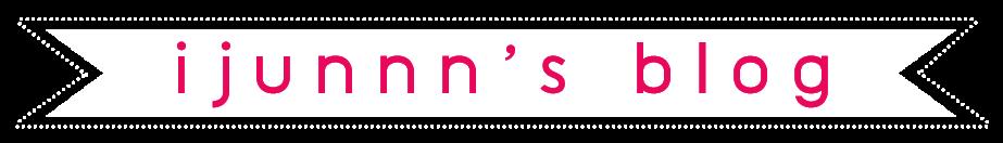 ijunnn's blog