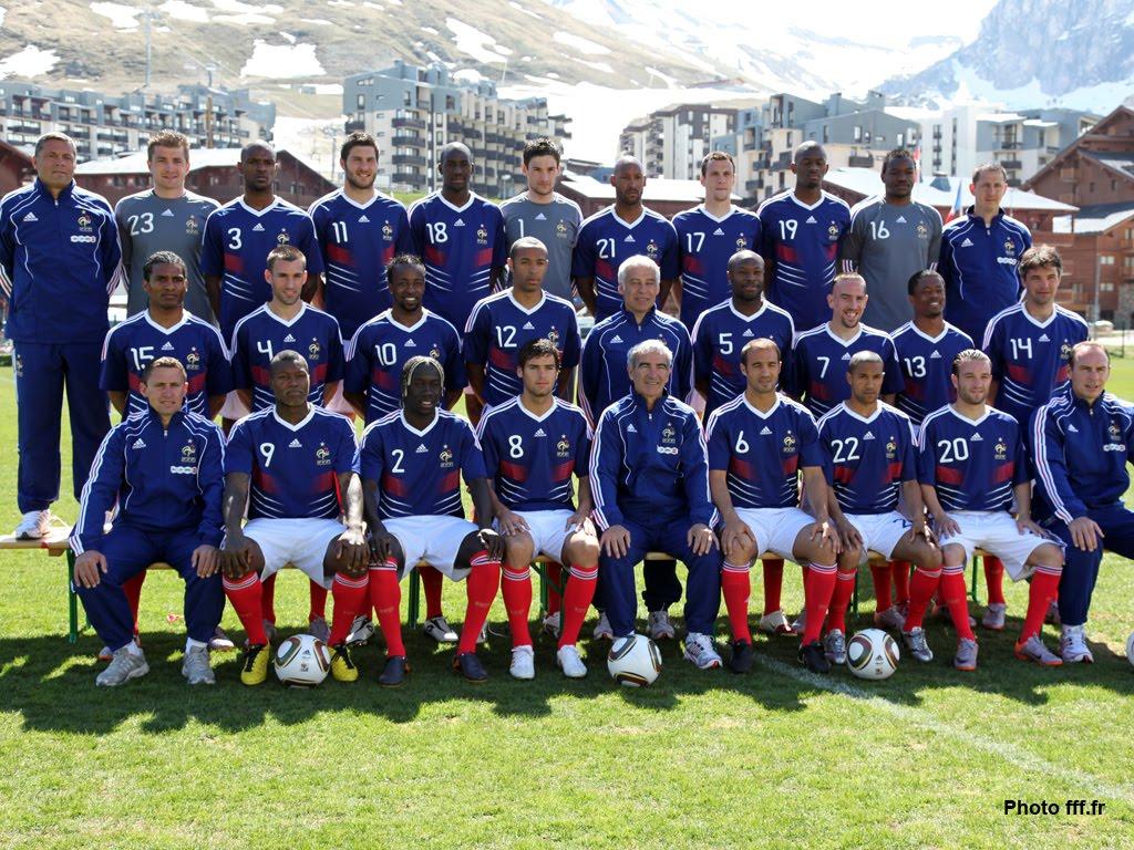 This blog of mine equipe de france de football une - Coupe du monde 2010 equipe de france ...