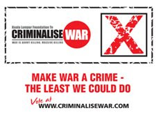 Kuala Lumpur Foundation to Criminalise War