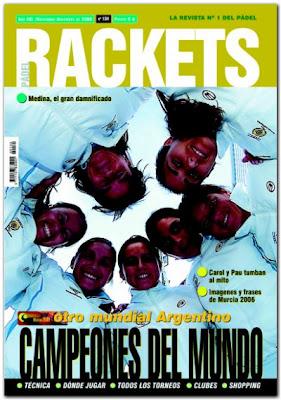 portada revista de pádel PadelRackets
