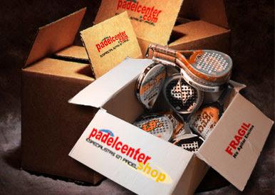 Padelcenter: Revendedores o distribuidores mayoristas de pelotas y palas de padel