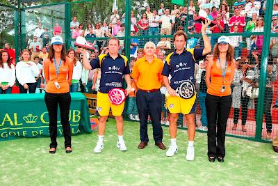 Hernan Auguste y Gaby Reca ganan el trofeo Ford del Internacional de Pádel Sevilla