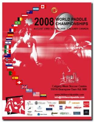 Selección Española en la inaguración mundial padel calgary 2008