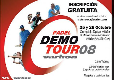 Cartel Varlion Demo Tour Valencia 2008