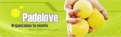 Logotipo de la Web de pádel, Padelove