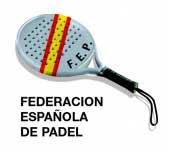 Logo de la Federación Española de Pádel