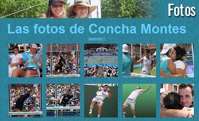 recopilación fotos Concha Montes