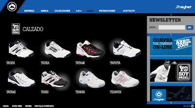 Colección zapatillas J´hayber padel