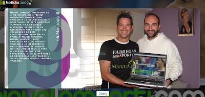 Web oficial de Miguel Lamperti