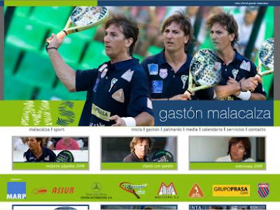 Web Oficial Gaston Malacalza