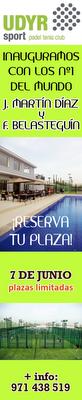 Inaguración Club Padel UDYR Palma de Mallorca
