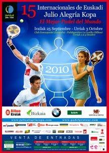 torneo padel pro tour Bilbao 2010