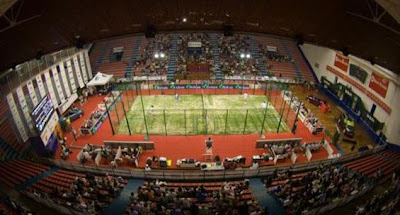 Pabellón polideportivo La Castilla torneo padel Bilbao 2010