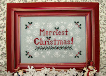 Merriest Christmas! - A Samplerbird Stitchery original design.