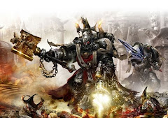chaplain of the black templars space marine chapter