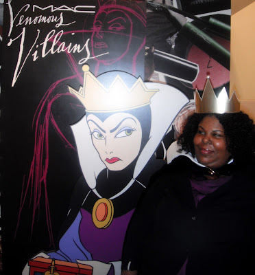 evil queen makeup. Me with the Evil Queen from