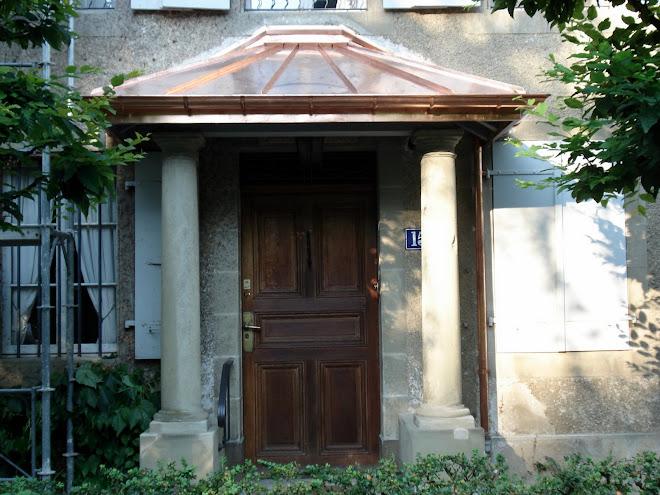 porche d'entrée