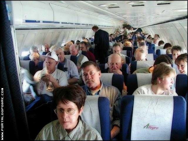 Como zoar em um avião