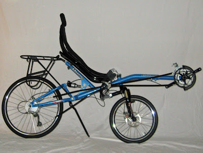 Oracle Omega luxury touring recumbent bicycle