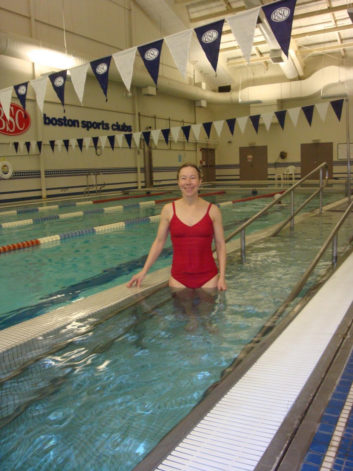50 Swims Swim 45 Boston Sports Club Newton Ma