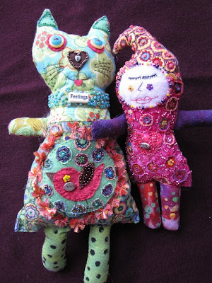 art dolls, spirit dolls, shaman dolls, camilla la mer, bead embroidery, beading, mermaids, process art, jungian psychology, jungian art